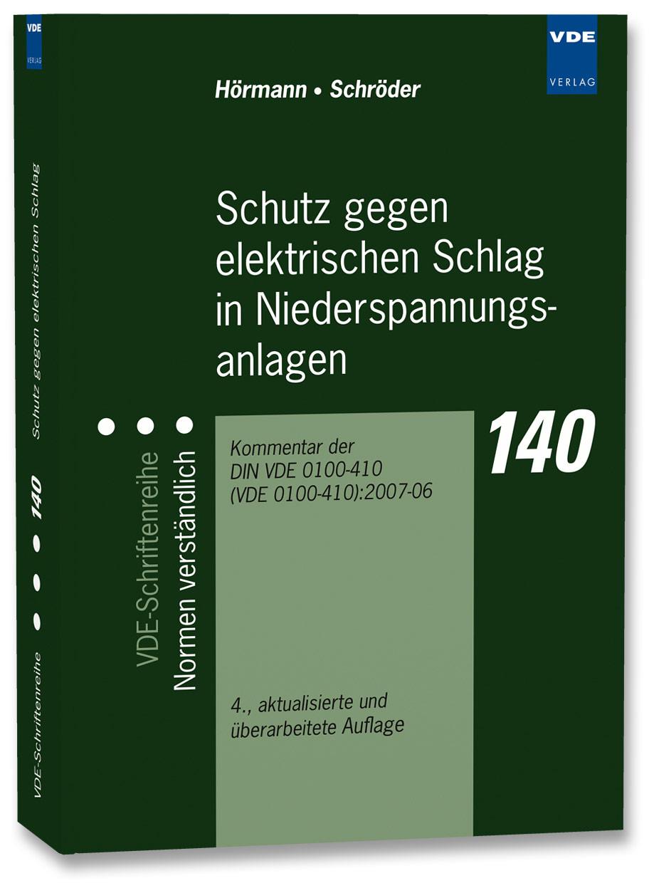 Werner Hörmann / Schutz gegen elektrischen Schlag in Nieders ... 9783800731909