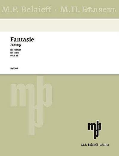 Fantasie h-Moll op.28für Klavier