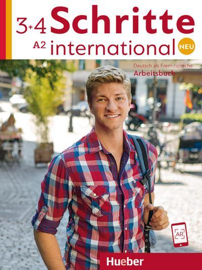 Schritte international Neu 3+4: Deutsch als Fremdsprache / Arbeitsbuch + 2 CDs zum Arbeitsbuch