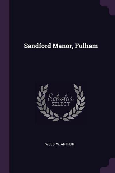 Sandford Manor, Fulham