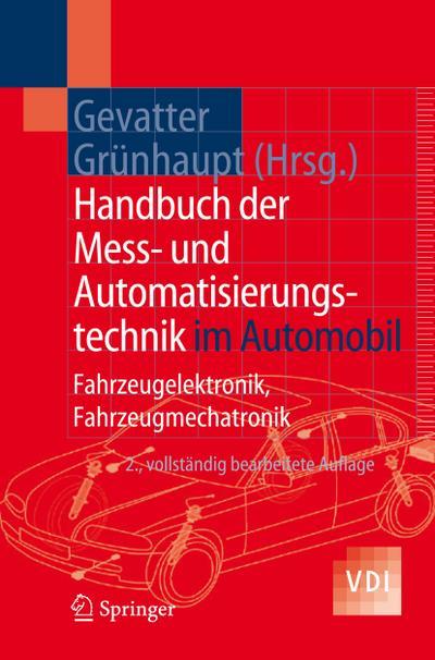 Handbuch der Mess- und Automatisierungstechnik im Automobil