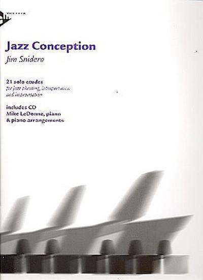 Jazz Conception Piano, w. Audio-CD