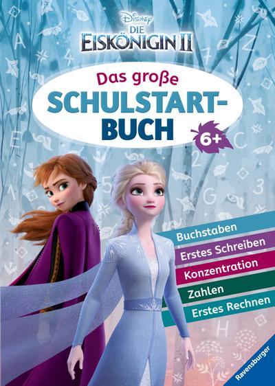 Disney Die Eiskönigin 2: Das große Schulstartbuch