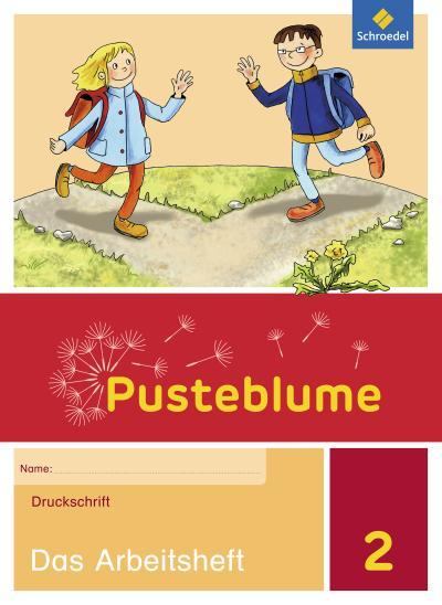 Pusteblume. Das Sprachbuch - Allgemeine Ausgabe 2015: Arbeitsheft 2 DS