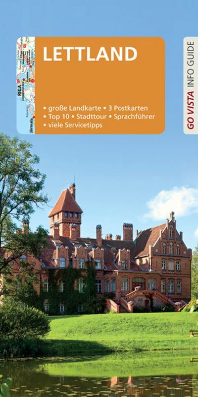 GO VISTA: Reiseführer Lettland: Mit Faltkarte und 3 Postkarten