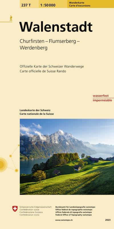 Swisstopo 1 : 50 000 Walenstadt