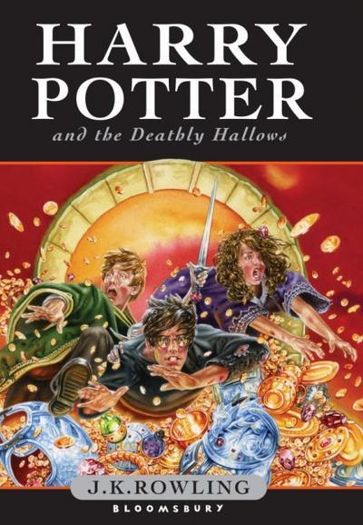 Harry Potter and the Deathly Hallows (Harry Potter 7) - Bloomsbury - Gebundene Ausgabe, Englisch, J.K. Rowling, ,