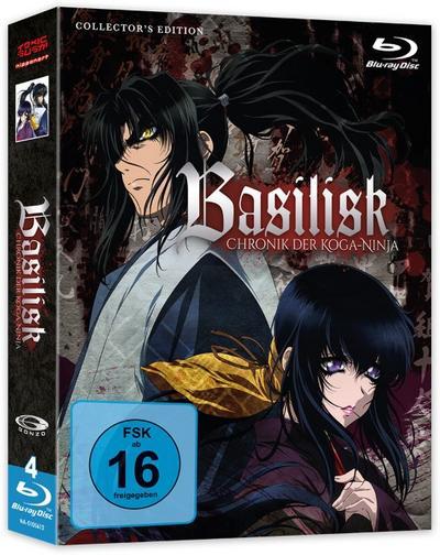 Basilisk - Chronik der Koga-Ninja - Collector's Edition (Gesamtausgabe, Episoden 1-24) Collector's Box