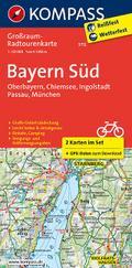 Bayern Süd. Oberbayern - Chiemsee - Ingolstadt - Passau - München