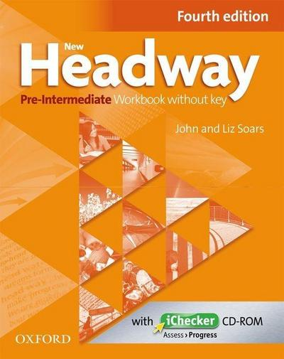 New Headway: Pre-Intermediate. Workbook + iChecker without Key