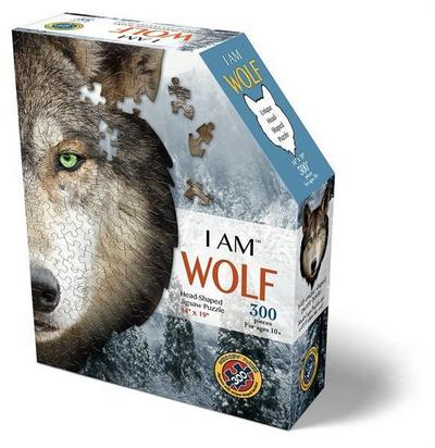 MADD CAPP Shape Puzzle Mini - Wolf 300 Teile