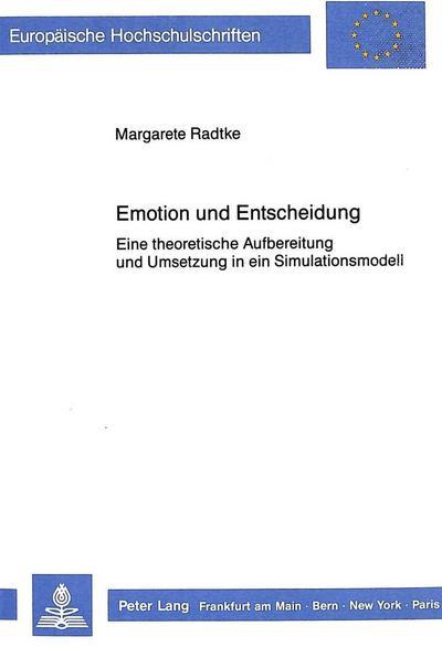 Emotion und Entscheidung
