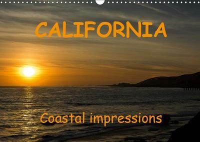 CALIFORNIA Coastal impressions (Wall Calendar 2019 DIN A3 Landscape)