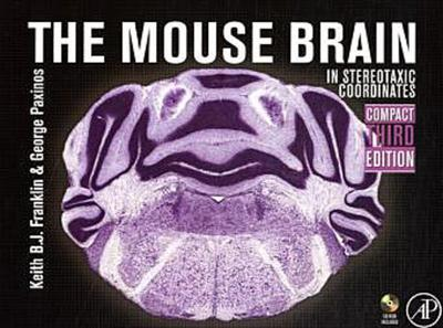 Mouse Brain in Stereotaxic Coordinates, 3rd edition, compact version