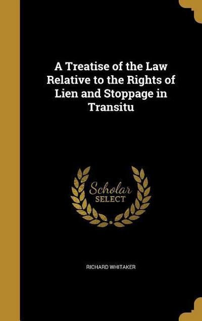 TREATISE OF THE LAW RELATIVE T