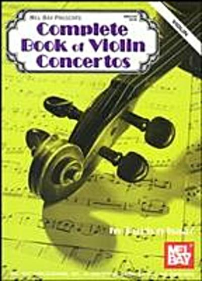 Complete Book of Violin Solos - Violin Part