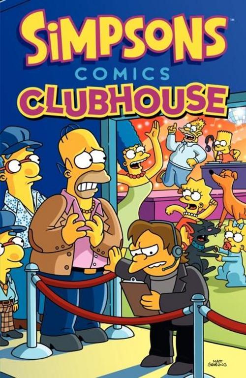 Matt Groening ~ Simpsons Comics Clubhouse 9780062360601