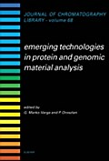 9780080530840 - Gyorgy Marko-Varga: Emerging Technologies in Protein and Genomic Material Analysis - Buch