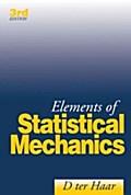 9780080530802 - D. ter Haar: Elements of Statistical Mechanics - Buch