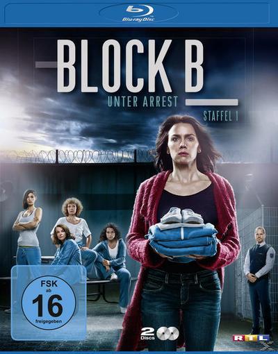 Block B - Unter Arrest - Staffel 1 Bluray Box