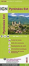 Pyrénées Est 1:200 000