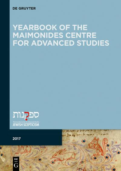 Yearbook of the Maimonides Centre for Advanced Studies. 2017