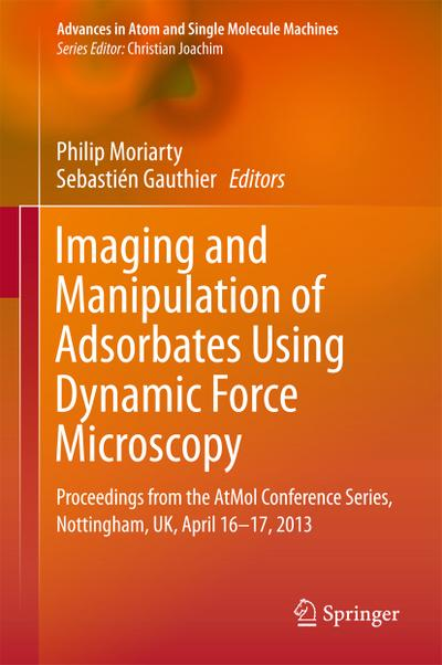 Imaging and Manipulation of Adsorbates Using Dynamic Force Microscopy