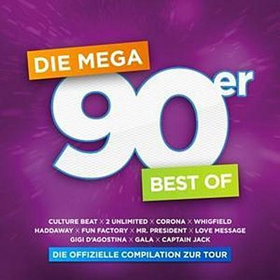 Mega 90er-Best Of-Offizielle Compilation Z.Tour