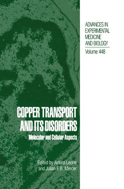 Copper Transport and Its Disorders