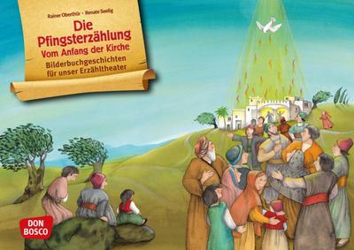 Die Pfingsterzählung. Vom Anfang der Kirche. Kamishibai Bildkartenset.