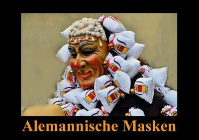 Alemannische Masken (Tischaufsteller DIN A5 quer)