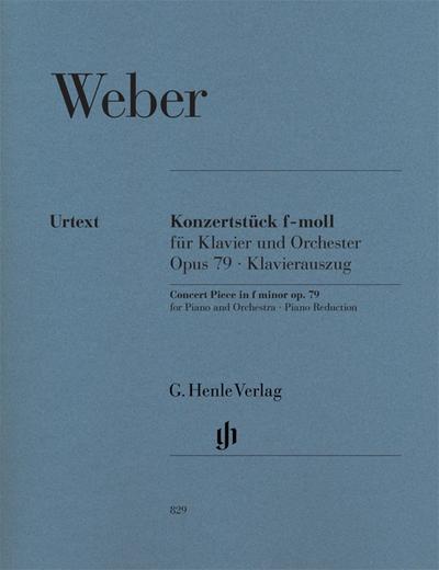 Konzertstück f-moll op. 79 für Klavier und Orchester