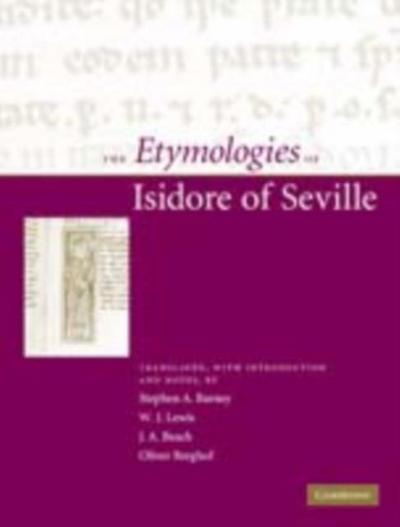Etymologies of Isidore of Seville