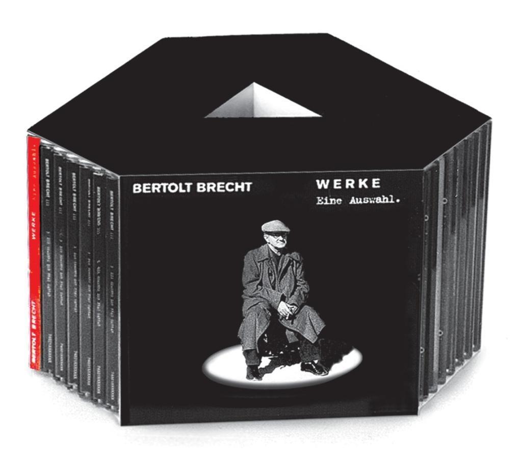 Werke. Eine Auswahl. 20 CDs, Bertolt Brecht
