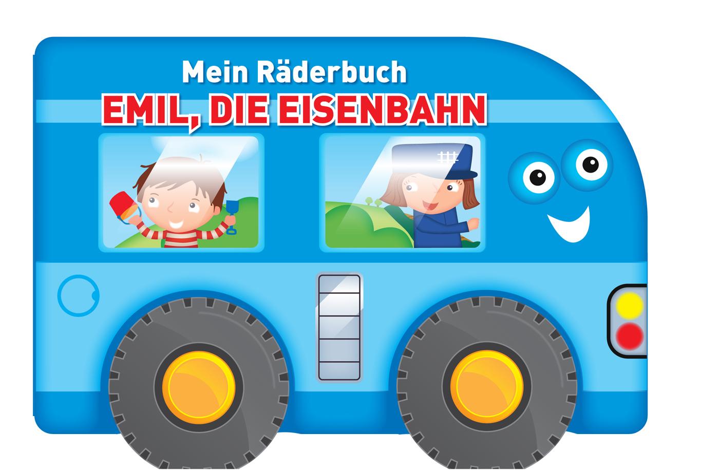 Mein Räderbuch - Emil, die Eisenbahn 9789463048514