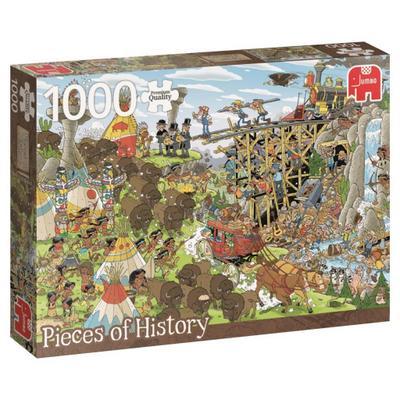 Rob Derks Pieces of History - Der Wilde Westen - 1000 Teile
