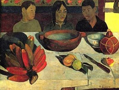Paul Gauguin - Die Mahlzeit (Stilleben mit Bananen) - 200 Teile (Puzzle)