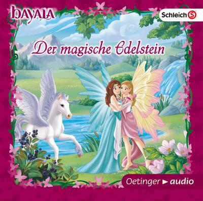 bayala Der magische Edelstein (CD); Hörspiel, ca. 30 Minuten; Ill. v. COMICON S.L., Barcelona; Deutsch