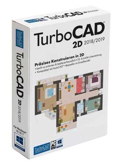 TurboCAD 2D 2018. Für Windows 7/8/10