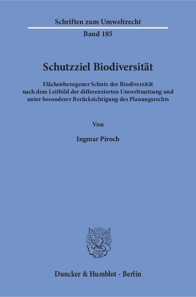 Schutzziel Biodiversität