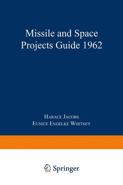 Missile and Space Projects Guide 1962