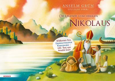 Die Legende vom heiligen Nikolaus: Bildkarten fürs Erzähltheater Kamishibai