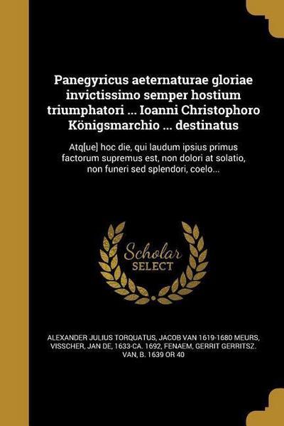 LAT-PANEGYRICUS AETERNATURAE G