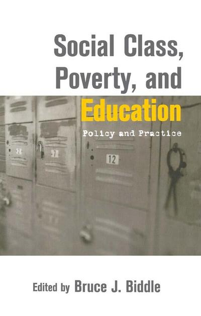Social Class, Poverty and Education