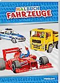 Malbuch Fahrzeuge. Ab 6 Jahren; Malbücher und -blöcke; Ill. v. Teschner, Oliver/Scheuerlein, Birgit; Deutsch; s/w