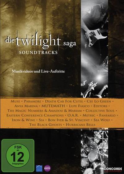 Die Twilight Saga: Soundtracks-Musikvideos (Dvd)