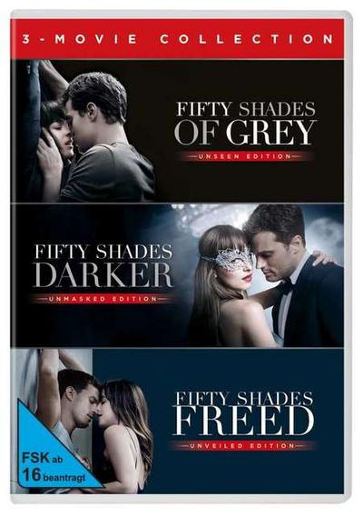 Fifty Shades of Gray - 3 Movie Collection