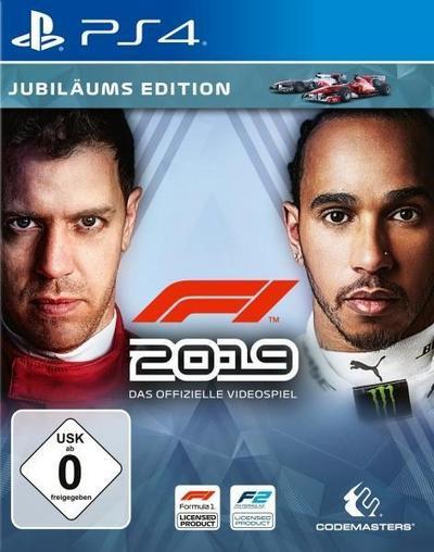 F1 2019 Jubiläums Edition (PlayStation PS4)