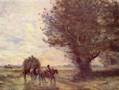 Jean-Baptiste-Camille Corot - Heuwagen - 200 Teile (Puzzle)