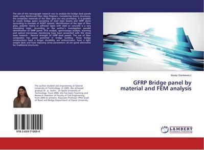 GFRP Bridge panel by material and FEM analysis